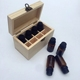 Custom 6 8 10 20 timber display essential oil packaging storage wooden box