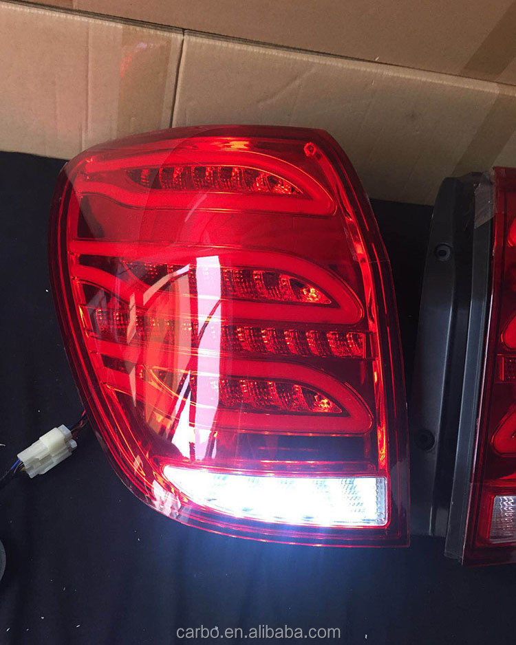 2017 newest tail lamp white and red color professional DRL factory High quality light for Chevrolet captiva