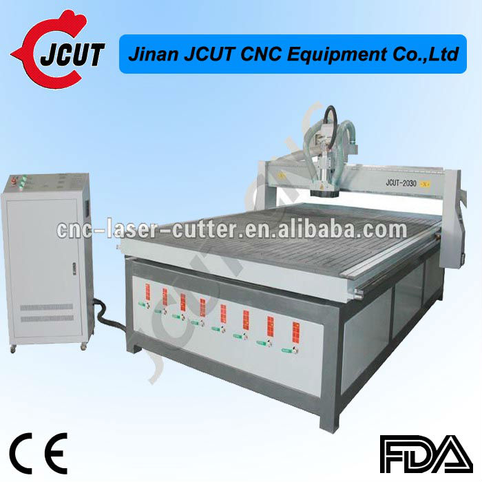 Chinese Efficient and Multifunction CNC Wood Router fro Bed and Furniture JCUT-2030