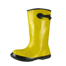 Hot sales overshoes rubber boots, yellow slush boots in USA