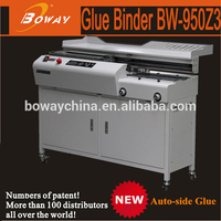 Boway New 950Z3 A4 auto side glue function glue machine for photo album