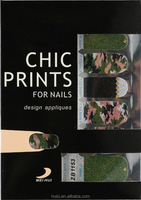 Eco-Friendly Fashion DIY nail Salon personal decoration nail arts stickers nail wraps