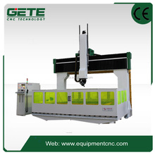 MH5A high precision CNC 5 Axis Equipment professinal mould carving cnc router