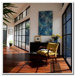 interior wooden french doors with glass
