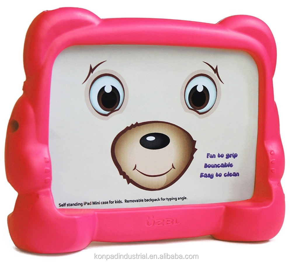 Chubby Cubby Adorable Kids Case for iPad Mini EVA Child tablet case