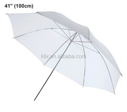 "41""(100cm) Photo Photography Studio Lighting Soft White Diffuser Umbrella"
