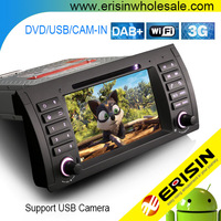 "Car DVD System Erisin ES3761B 7"" Android7.1 Audio GPS for BMW E39 E53"