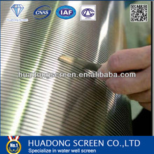 Supply Stainless Steel STC Wedge Wire Screen Panel for Geothermal