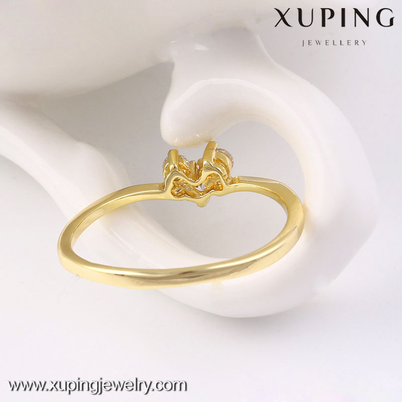 13536-xuping dubai simple latest gold stone ring designs for girl ...