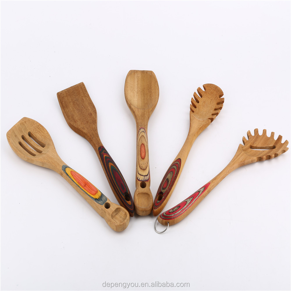 Unique Design Novel Household Bamboo Cooking Utensils