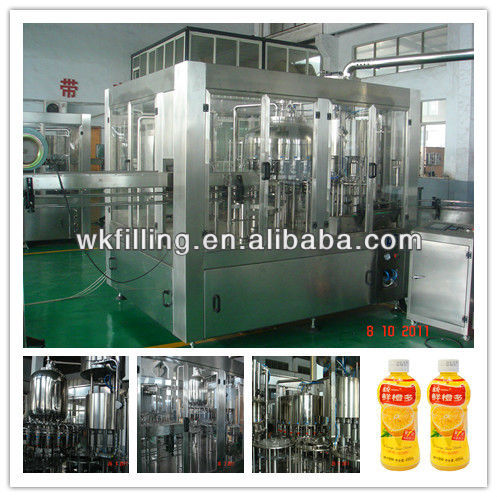 Automatic juice filling and packing machines