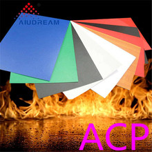 Colorful Fireproof construction building materials acp