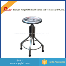 Wholesale Height Adjustable Stainless Steel medical Operation Round Stool
