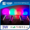 10 color best price factory direct sale 3W automatic color changing color shine led flashlight