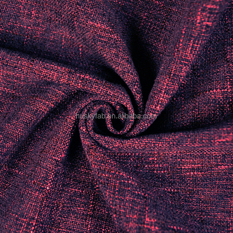 Jacquard Style and Blending Acrylic Nylon 100% Polyester Material Plain Fabric for Sofa