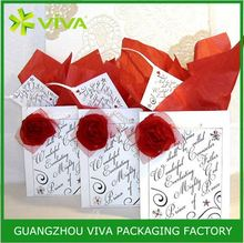 Vietnam recycled paper fashion show gift bags