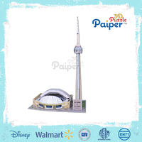Buy 3D puzzle paper model,diy paper toy,children gift architecture ...