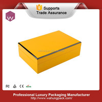 yellow piano fhinished high-end wooden jewelry gift box for accessories storage