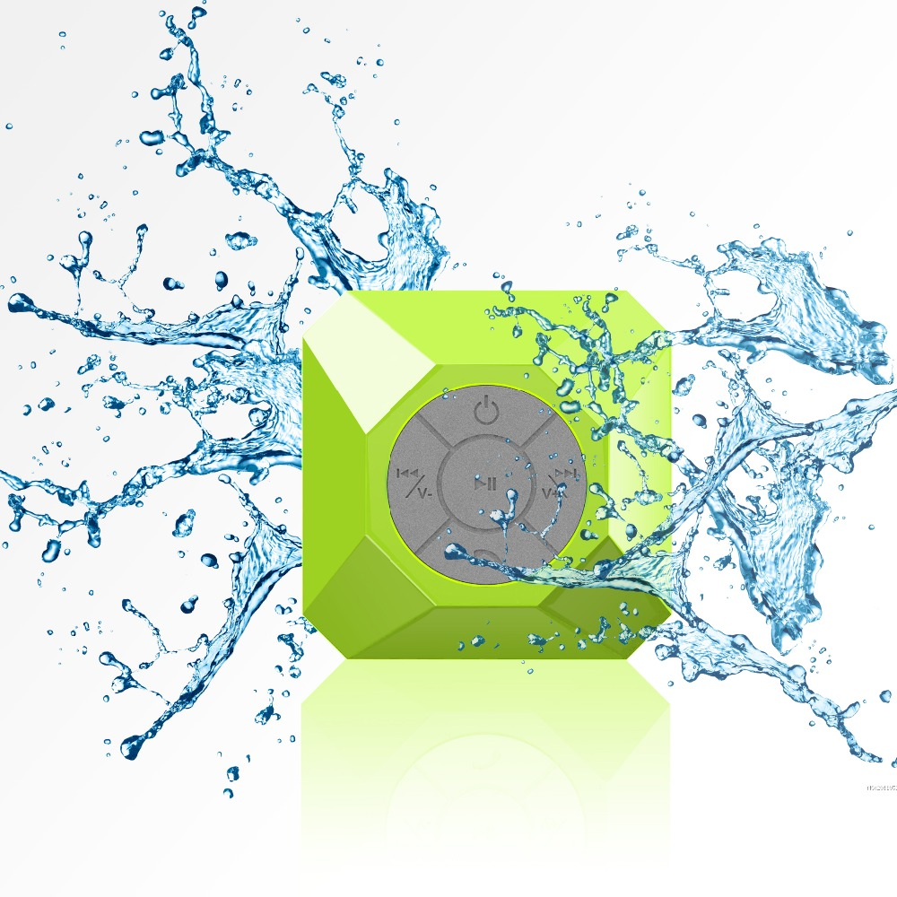 Waterproof Bluetooth Stereo Shower Speaker Mobile Phone Dj Songs Mp3 Free Download Bluetooth Speaker For Table ABS+Silicone