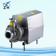 High quality food grade mechanical seal centrifugal pump