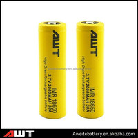 Shenzhen manufacturer 3.7V 2600mAh CR123A li-ion battery for stun-gun