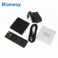 Cheapest Price 2GB/16GB Wholesale Smart TV Arabic Android TV Box Dual Tuner Ott TV Box T95 T95X