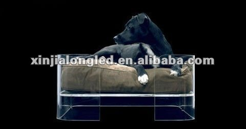 Luxury Acrylic Pet Dog Beds Acrylic Home and Garden Pet Products Pet Beds and Accessories