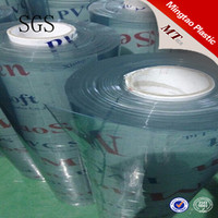 Super clear plastic pvc packing film for making bag