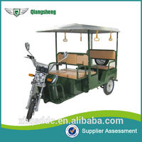 China Lead-acid Battery Operated Electric Pedicab Rickshaw Manufacture