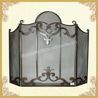 NEW!!! Home Shabby Chic Metal Room Folding Divider