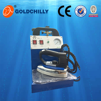 Best selling high quality Steam irons with ironer table, dry pressing machine, laundry equipment prices