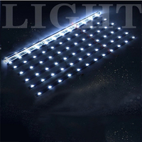 Wafer dual chip 24vLed hard light bar 2835 lamp beads patch back light piccolo light strip