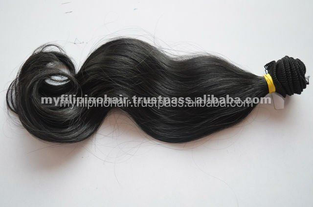 100% Original Virgin Filipino Hair Made Hair Extensions
