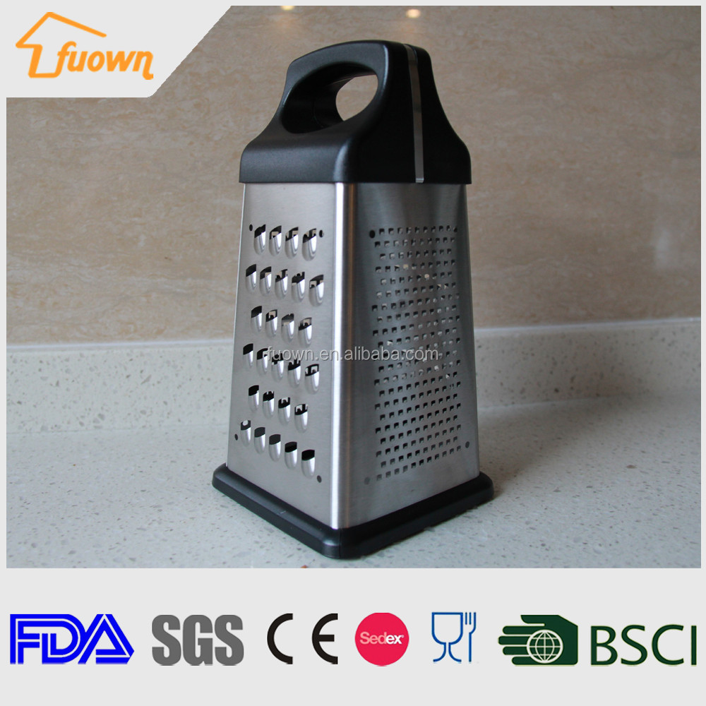 4 sides stainless steel Vegetable and fruit Grater