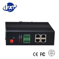 High 4 Channel Isolation Gigabit Ethernet Optical Fiber Switch