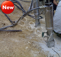 BS-90A building construction machine , concrete rock splitting machine