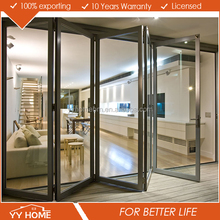 China manufacturer YY Home As2208 AS 2047 standard aluminium doors and windows for waterproof