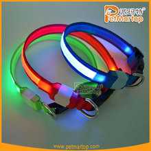 led pet product flexible dog collar TZ-PET5200 wholesale led dog collars