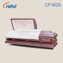 Casket Price Funeral Purple Rose(CF-M20)