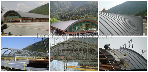PVC / VCM film laminated steel for roof