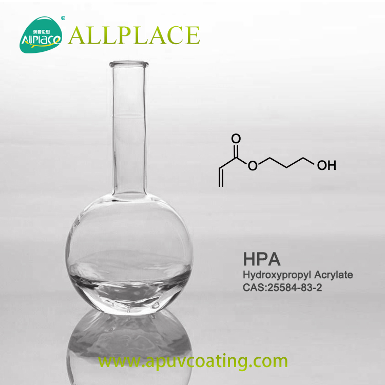 CAS 25584-83-2 Hydroxypropyl Acrylate UV Monomer from Allplace Factory