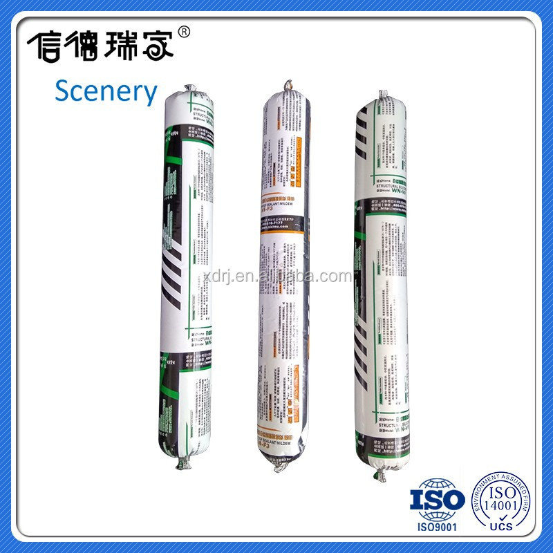 curtain wall weatherable silicone sealant glass adhesive