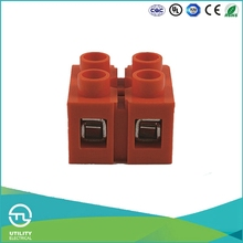 UTL Trading Factory Company Industrial Distribution Base Type Two Bit Terminal Block Wiring Capacity 0.5-6mm