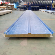 Manufacturer Supply 100Mm Rock Wool Sandwich Roofing Panels For Building