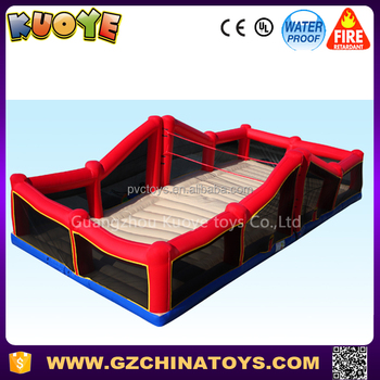 2017 hot sale inflatable bossa beach volleyball arena court