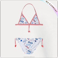 Hot factory high quality wholesale young girls 7-16 swimwear