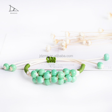 Ceramic Bracelets Porcelain Bangles Handmade Vintage Jewelry New Fashion Accessories Wholesale