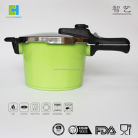 100% safe non-stick pressure cooker with granite coating,can avoid explosion