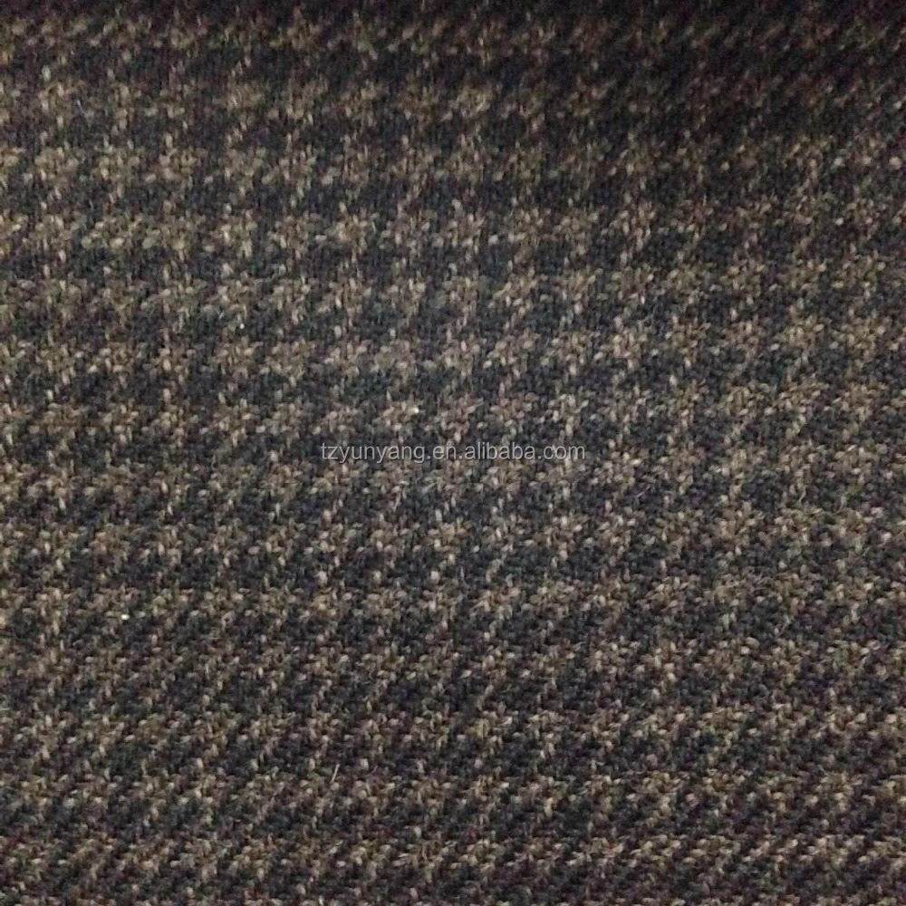 Dark Brown super 100s Worsted Wool Suiting for men's suits