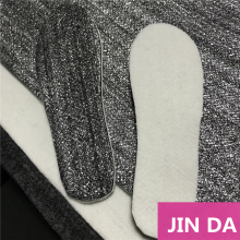 Activated carbon felt keep warm felt non-woven fabric silver grey/ Aluminum film felt